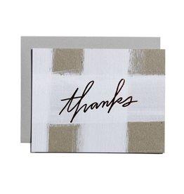 Mōglea | Thanks Check Greeting Card