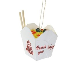 Cody Foster Chinese Take Out Ornament