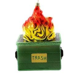 Cody Foster Dumpster Fire Ornament