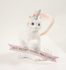 Cody Foster Fantastical Unicorn Kitten Ornament