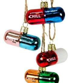 Cody Foster Chill Pill Ornament