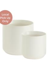 White Kendall Pot