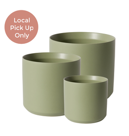 "4""-10.75"" Kendall Pot Green"