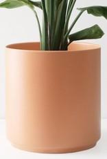 """Peach & Pebble 7""""-10"""" Modern Ceramic Pot Peach"""