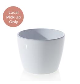 """7"""" Malibu White Pot"""