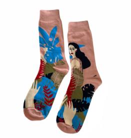 Momstera Socks