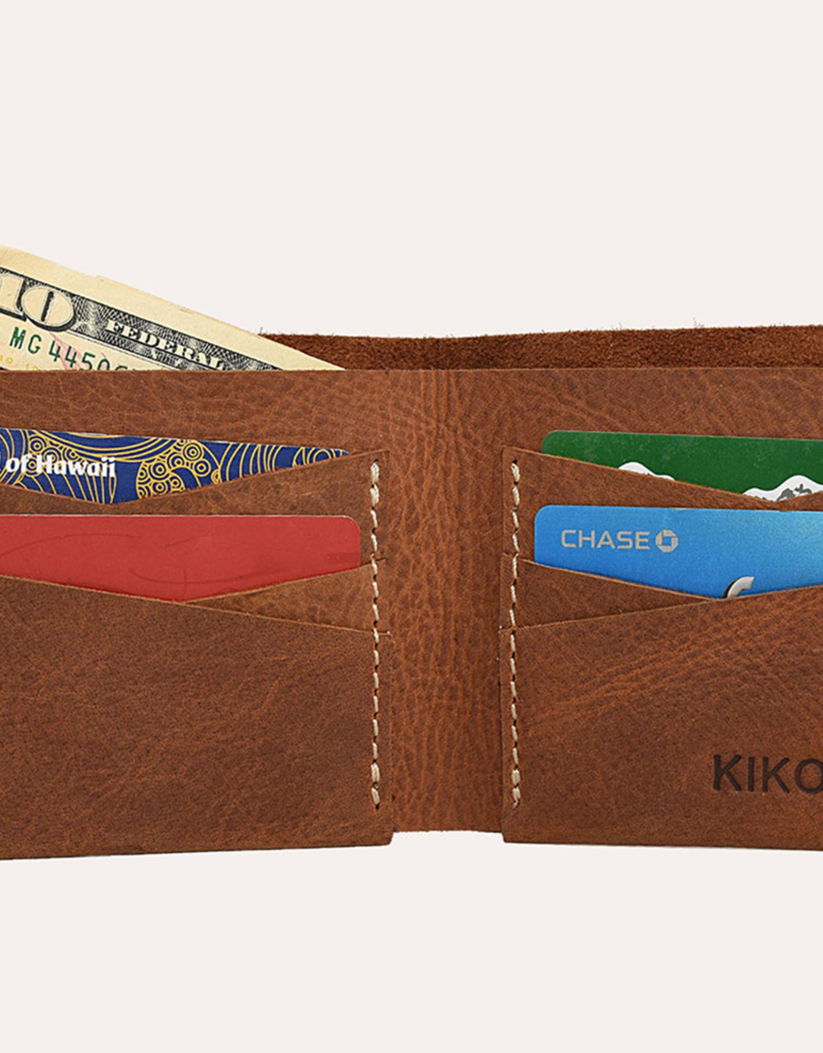 Kiko Leather Kiko Leather | Tan Buck Bifold