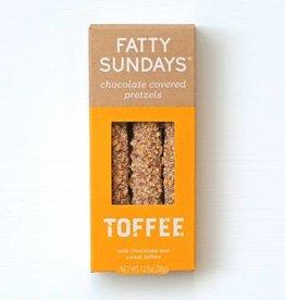 Fatty Sundays Fatty Sundays | Toffee Chocolate Covered Pretzels