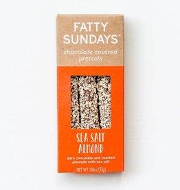 Fatty Sundays Fatty Sundays | Sea Salt Almond Chocolate Covered Pretzels