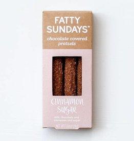 Fatty Sundays Fatty Sundays | Cinnamon Sugar Chocolate Covered Pretzels