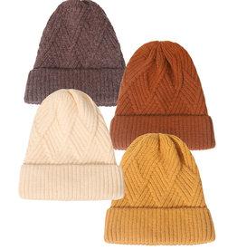 Rib-Knit Adult Hat