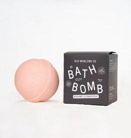 Old Whaling Company Bergamot and Grapefruit Bath Bomb