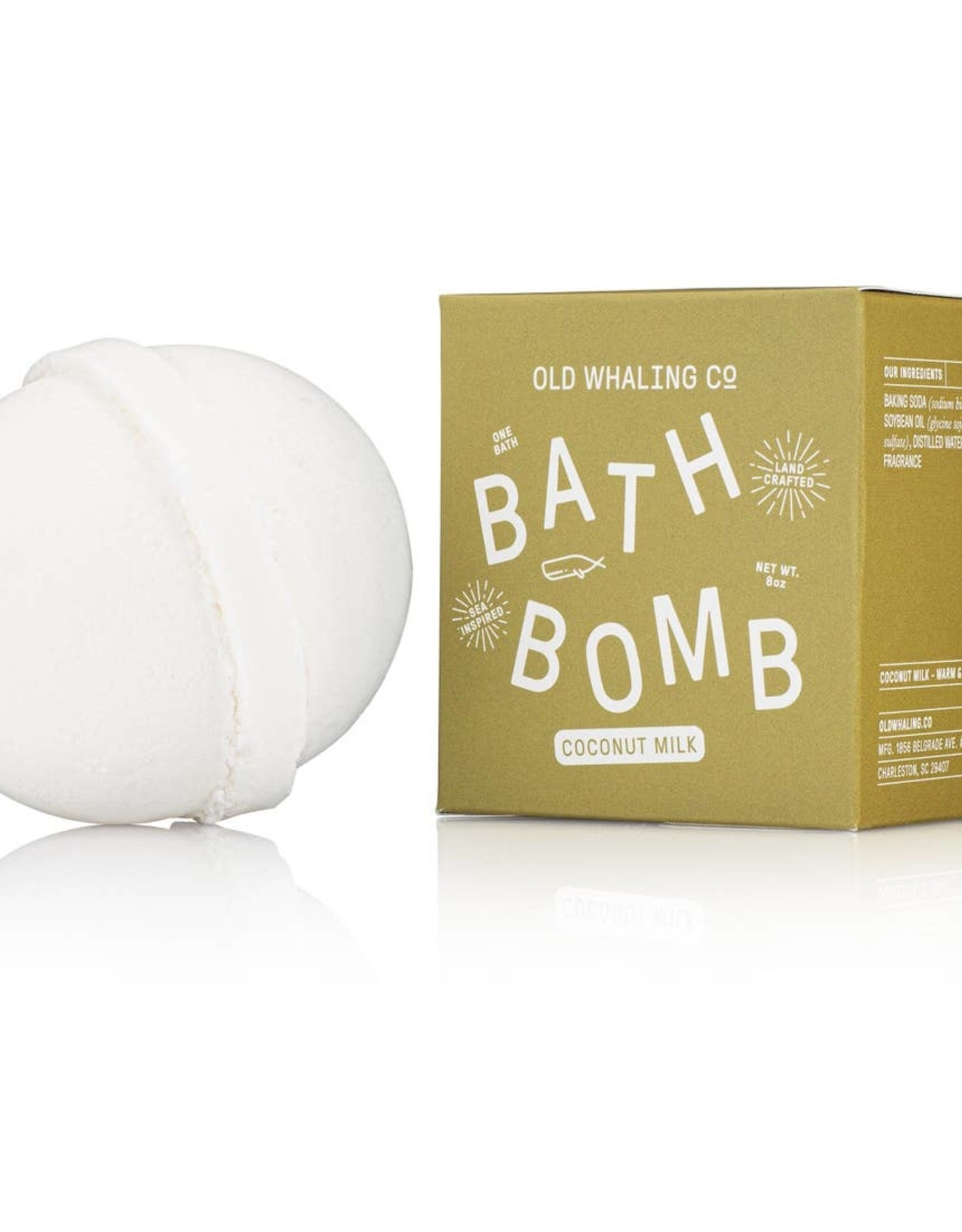 Old Whaling Company Old Whaling Coconut Bath Bomb