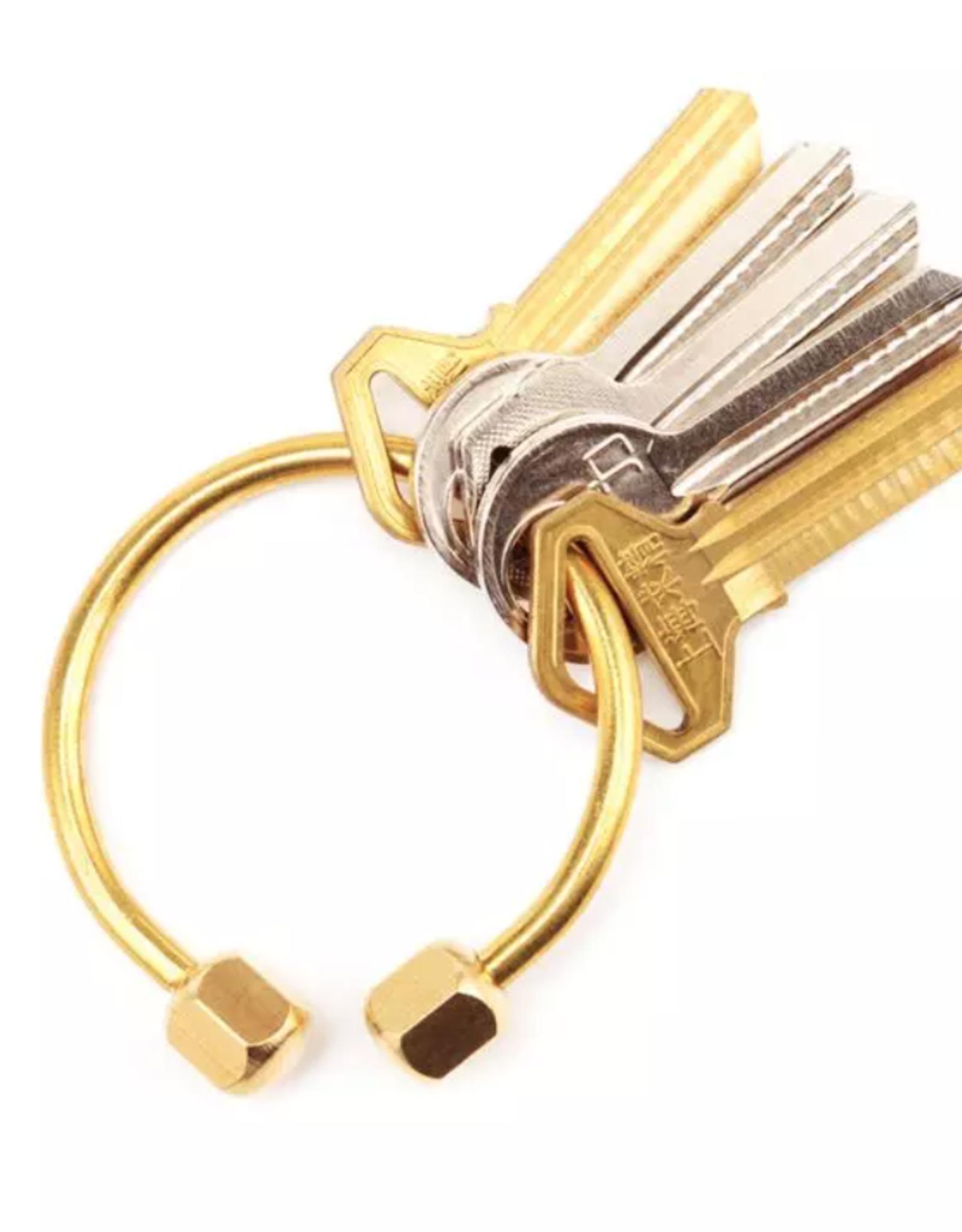 Brass Keyring