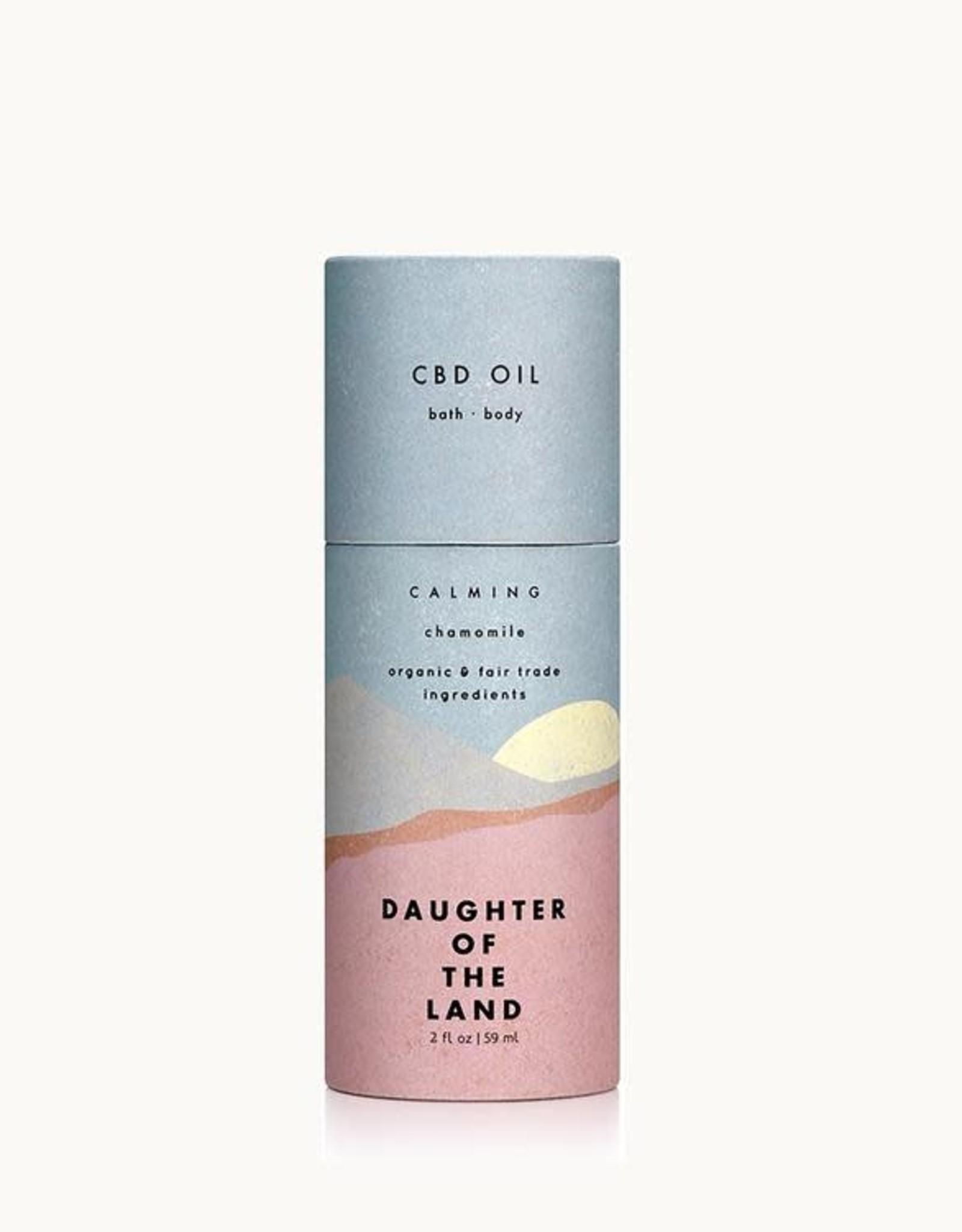 Daughter of the Land Daughter of the Land | C B D Oil - Chamomile