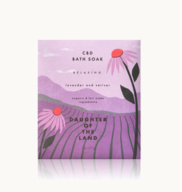 Daughter of the Land Daughter of the Land   Lavender + Vetiver Bath Soak  (Single Serving)