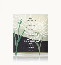 Daughter of the Land Daughter of the Land | Cypress Bath Soak  (Single Serving)