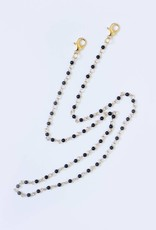 Lost + Wander Black Pearl Mask Chain
