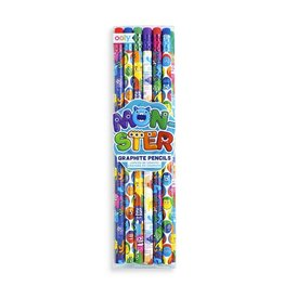 Ooly Monster Graphite Pencils - Set of 12