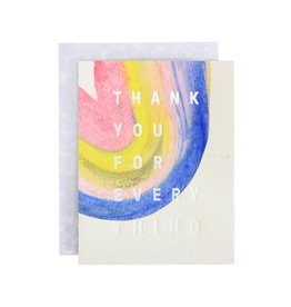 Mōglea Rainbow Thank You Boxed Set of 6