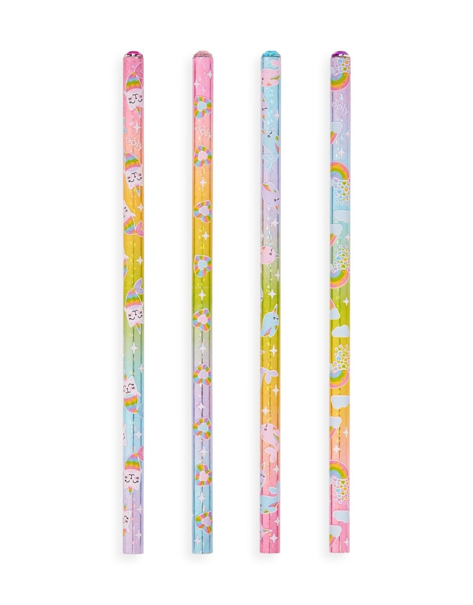 Ooly Ooly | Rainbow Gem Graphite Pencils