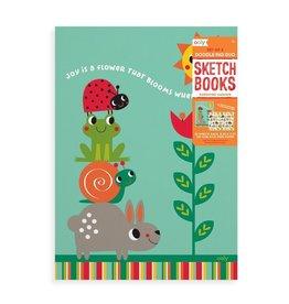 Ooly Sunshine Garden Sketchbooks - Set of 2