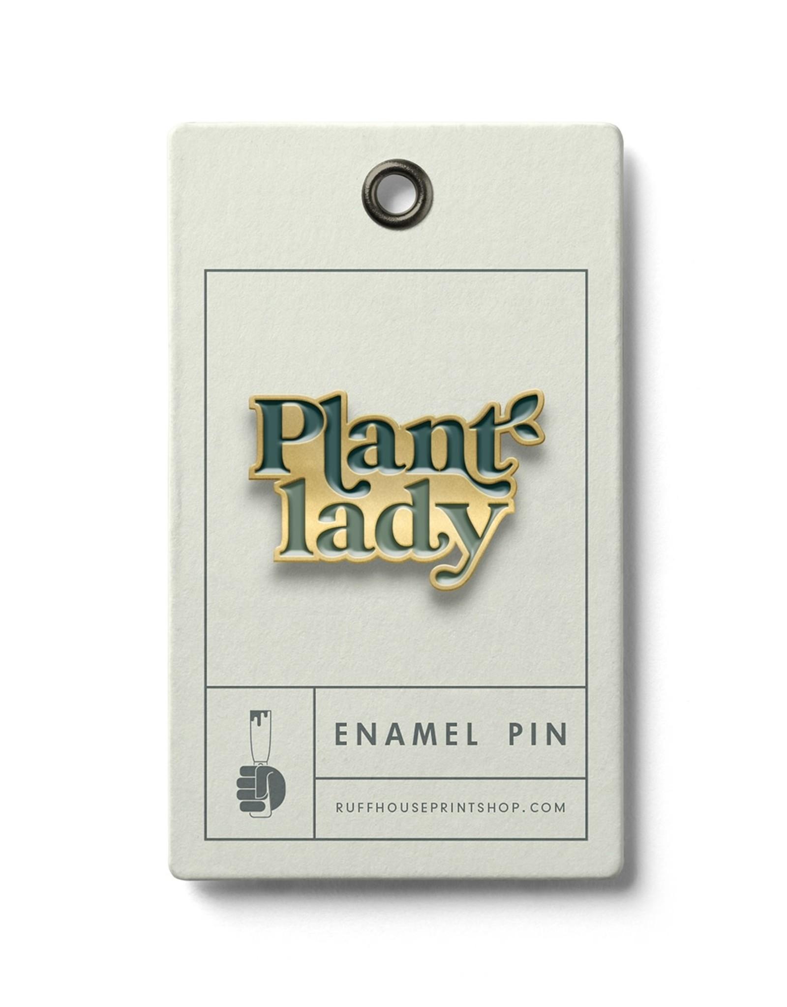 Ruff House Ruff House   Plant Lady Enamel Pin