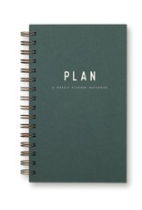 Ruff House Ruff House | Simple Plan Weekly Planner Notebook (Forest)