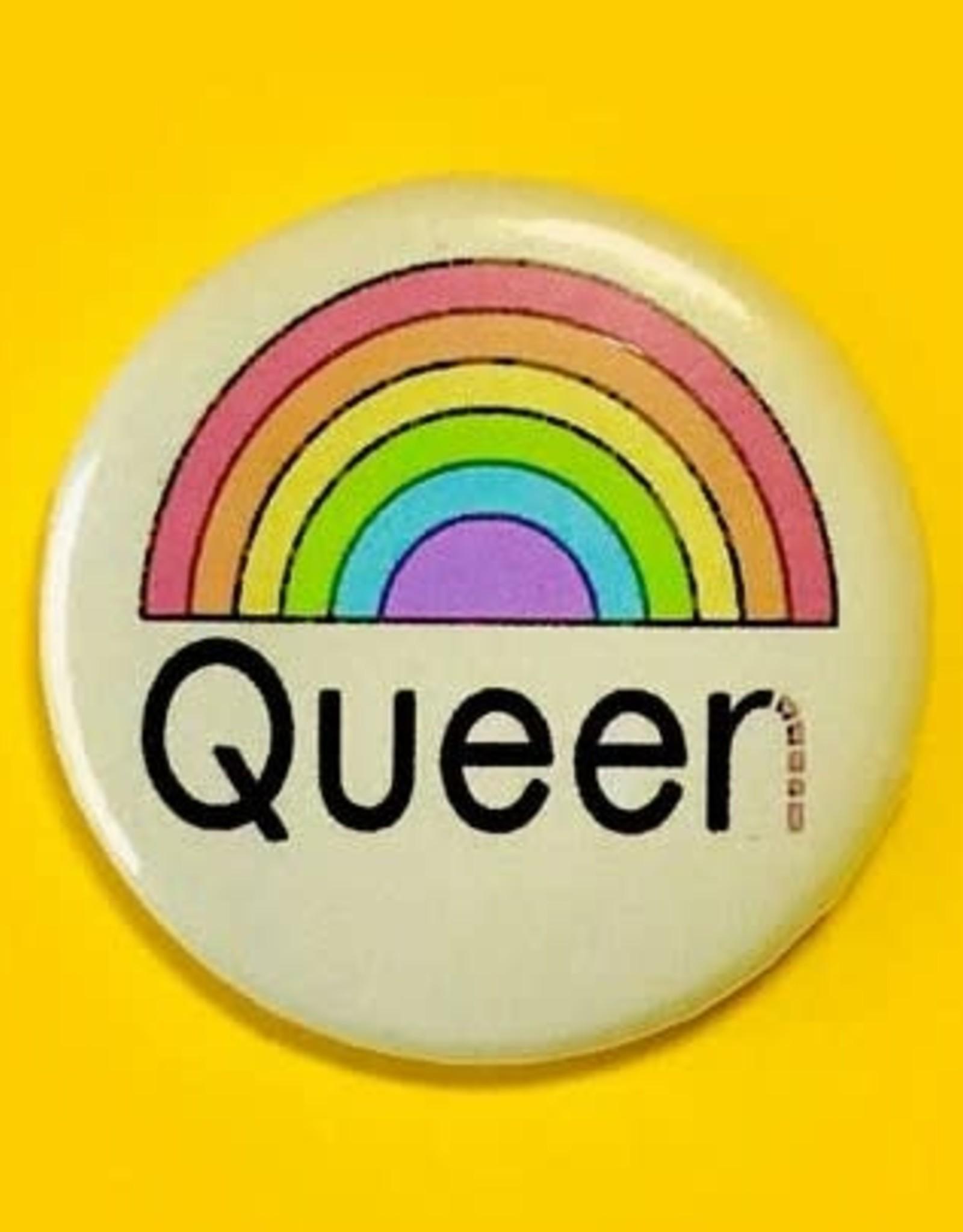 The Peach Fuzz The Peach Fuzz | Queer Queen Button