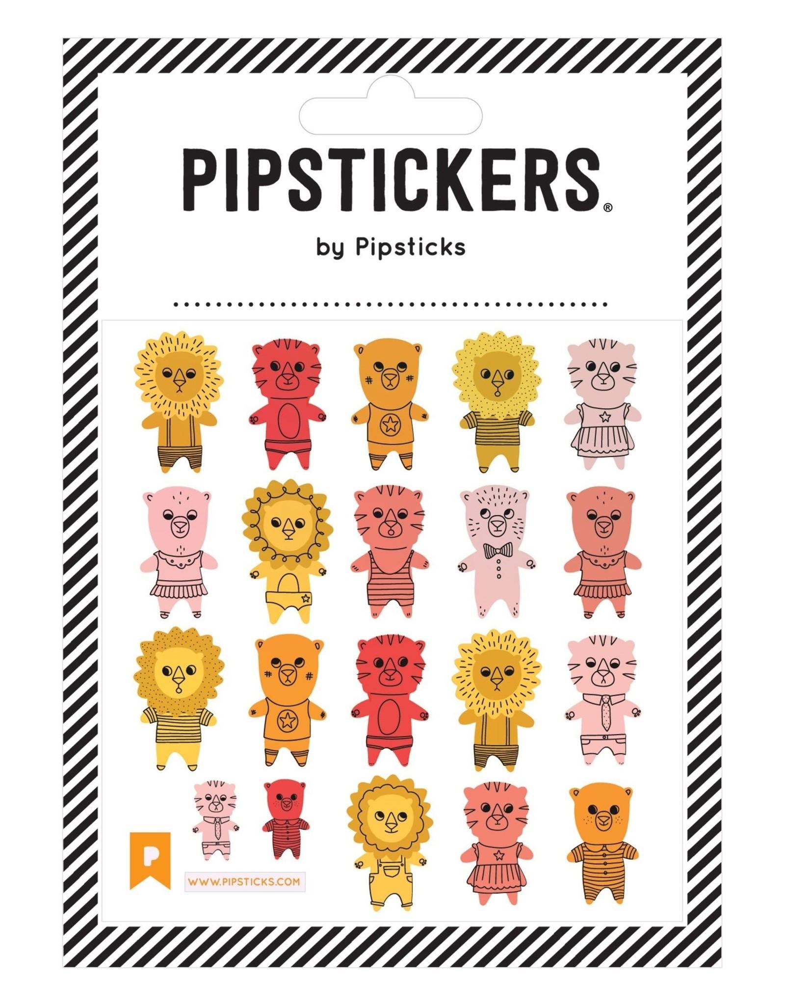 Pipsticks Pipsticks | Lions & Tigers & Bears