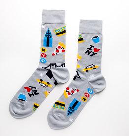 Yellow Owl Workshop Yellow Owl Workshop | NY Crew Socks (M)