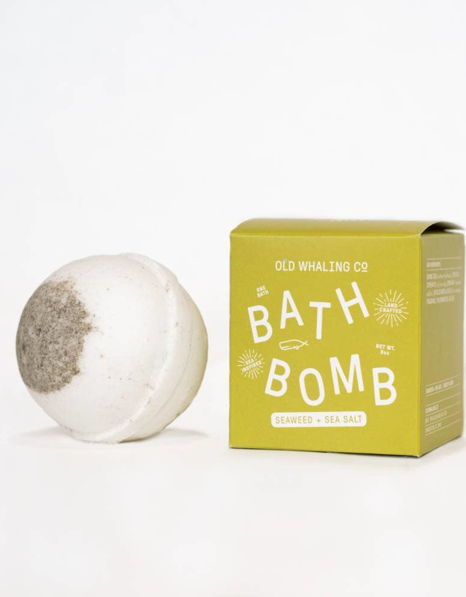 Old Whaling Company Old Whaling Bath Bomb Seaweed and Sea Salt