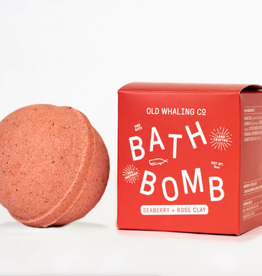 Old Whaling Company Old Whaling Bath Bomb Seaberry and Rose Clay