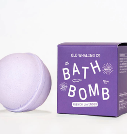 Old Whaling Company Old Whaling Bath Bomb French Lavender