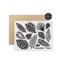 Wild Hart Paper Thank You Leaves (Box of 6)