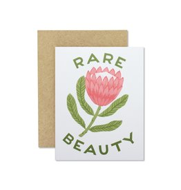 Wild Hart Paper Rare Beauty Card