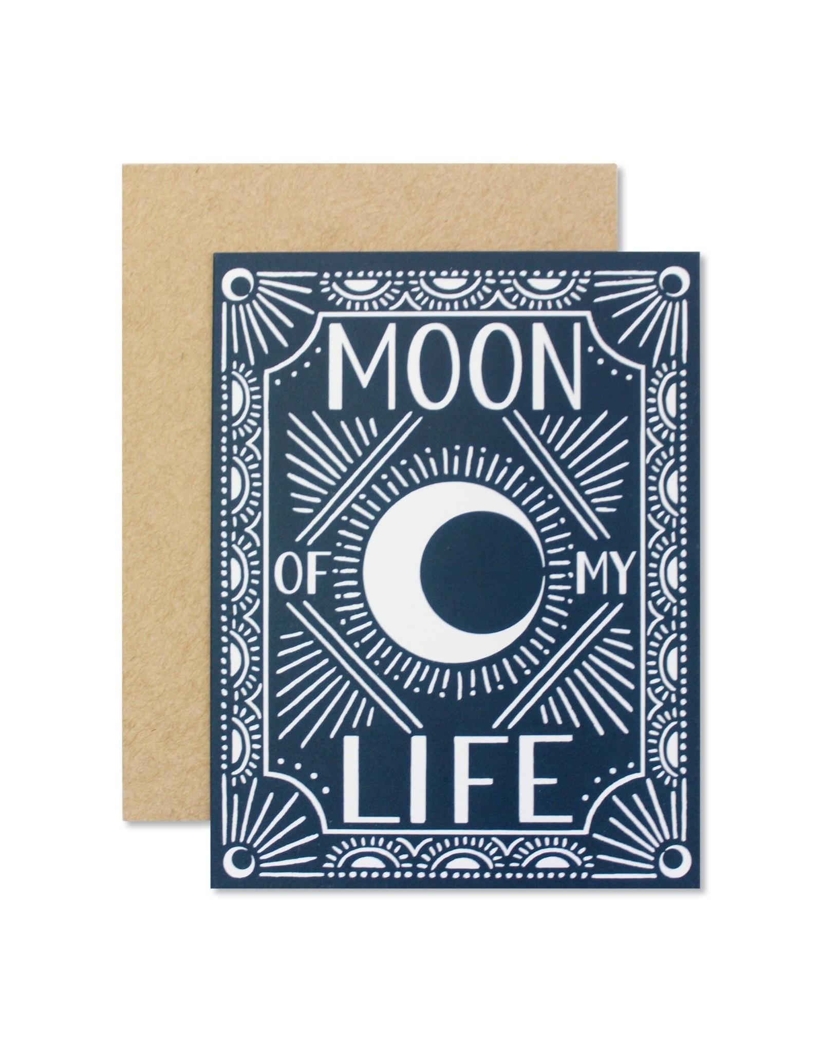 Wild Hart Paper Wild Hart Paper | Moon of My Life Card