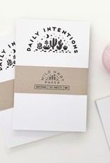 Wild Hart Paper Wild Hart Paper | Daily Intentions Notepad