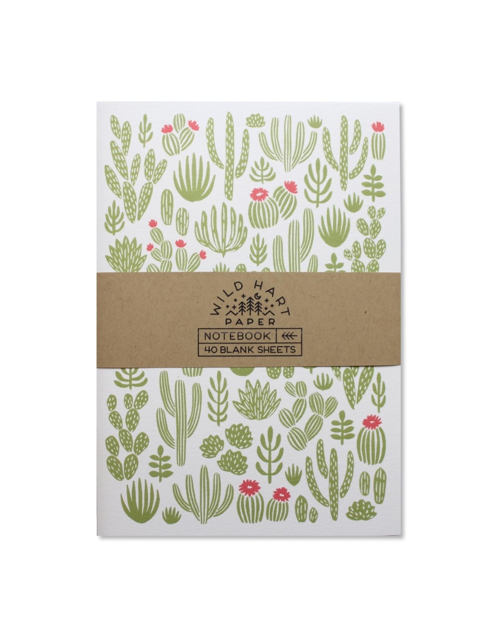 Wild Hart Paper Wild Hart Paper | Cactus Notebook