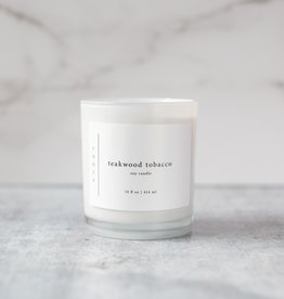 Roote Roote | Teakwood Tobacco 14 oz Soy Candle