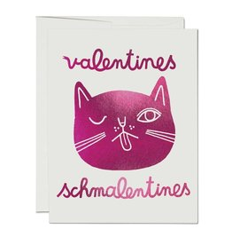 Red Cap Valentines Schmalentines (Box of 8)