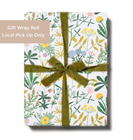 Red Cap Gift Wrap Roll - Growing Wild (3 sheets)