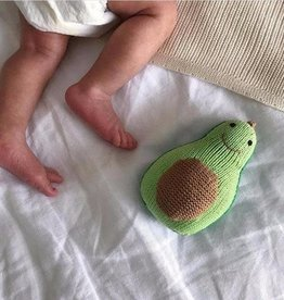 Estella Organic Knit Avocado Rattle