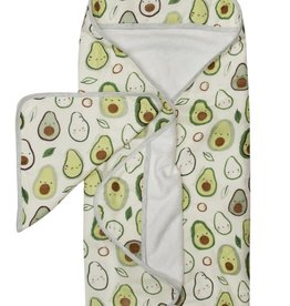 Loulou Lollipop Loulou Lollipop | Avocado Hooded Towel Set