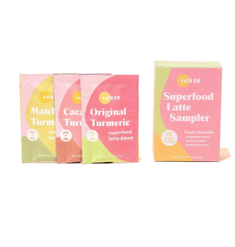 Golde Golde | Superfood Latte Sampler