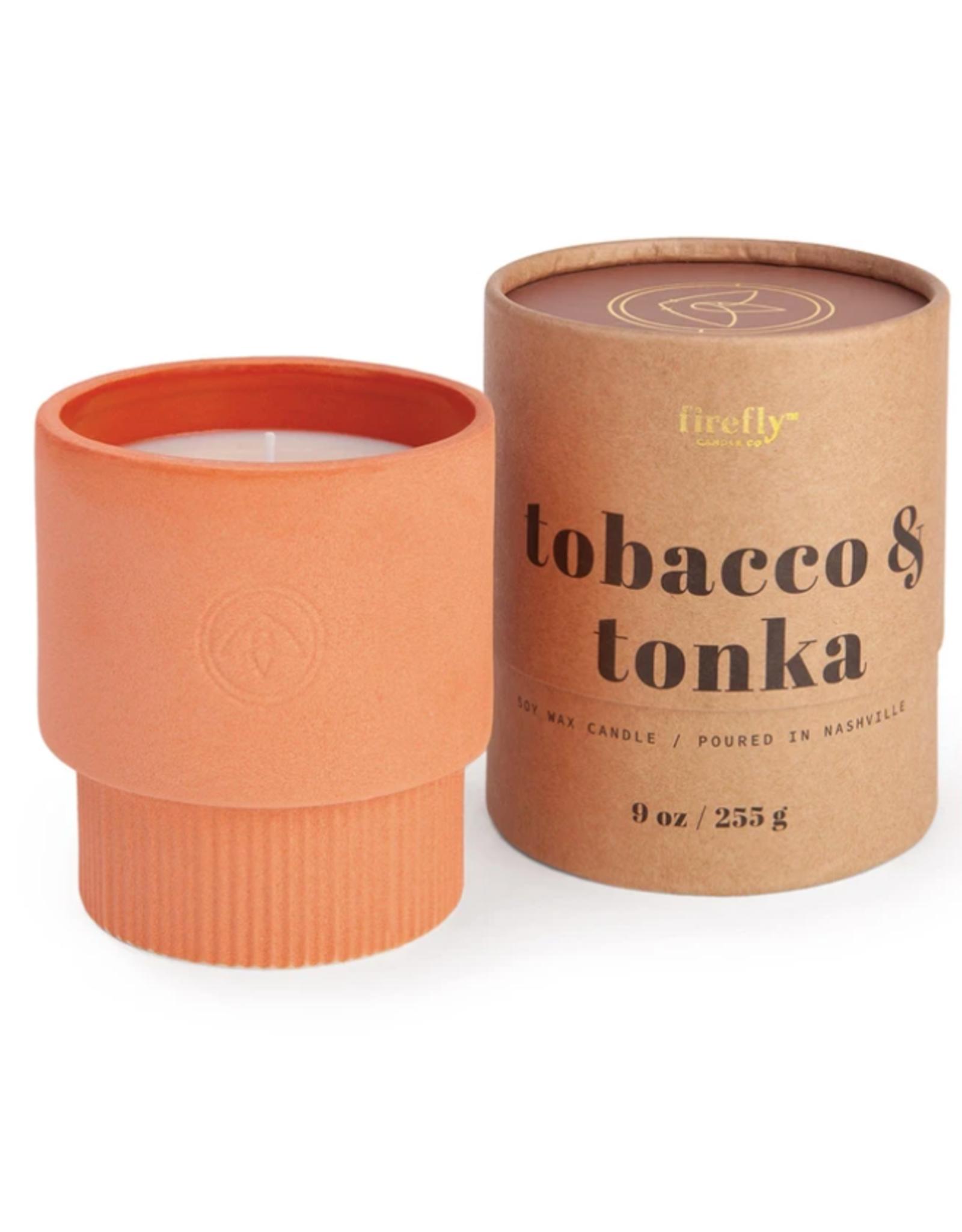 Firefly Firefly   Terracotta Candle - Tobacco & Tonka