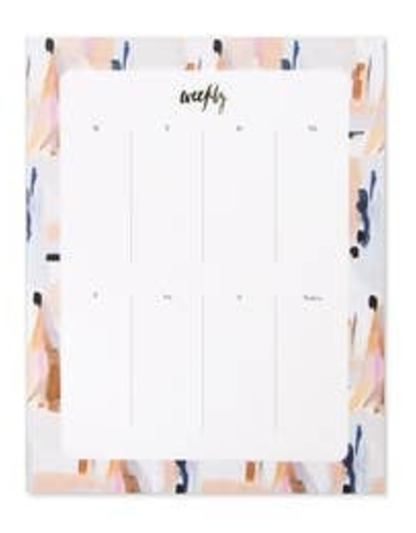 Our Heiday Our Heiday   Blue Abstract Agenda Pad