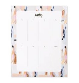 Our Heiday Our Heiday | Blue Abstract Agenda Pad