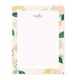 Our Heiday Our Heiday | Citrus Blank Everyday Notepad