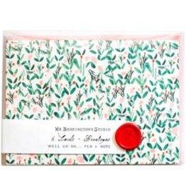 Mr. Boddington's Mr.  Boddington's | Charlotte Rose Box of 6 Notecards